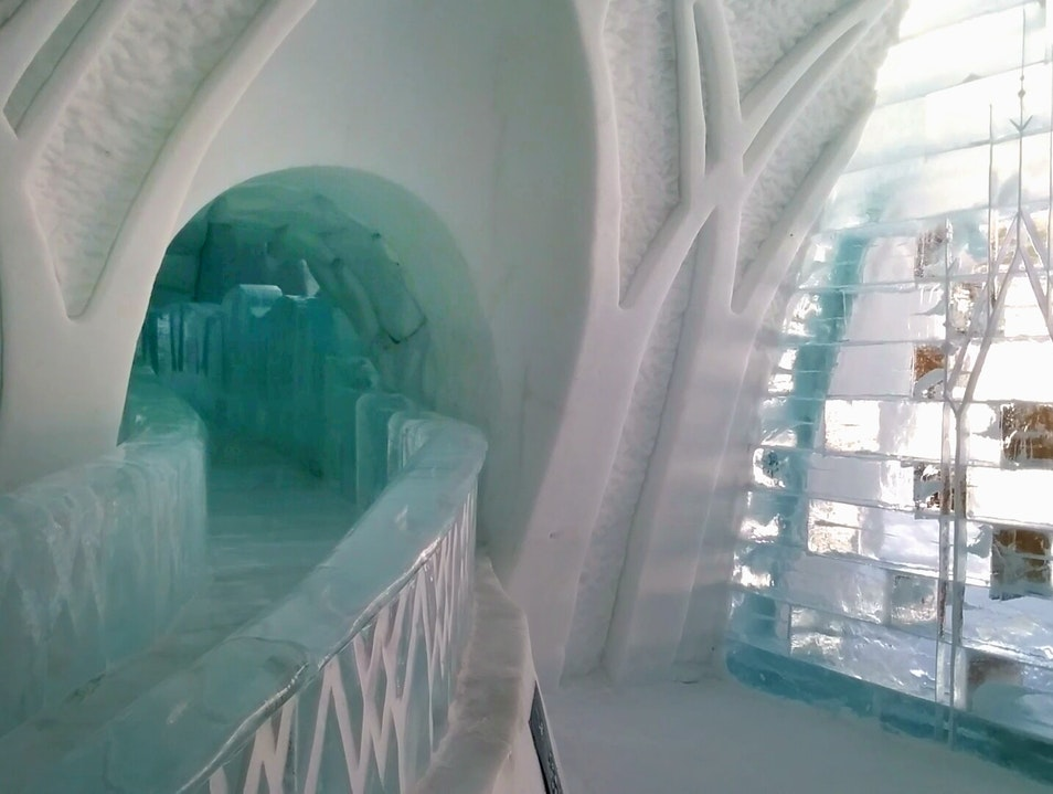 A Cozy Stay at the Magical Ice Hotel Quebec  Canada