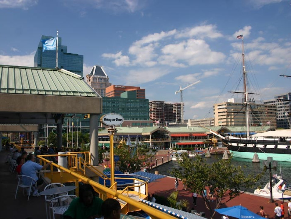 One-Stop Shopping with a View Baltimore Maryland United States