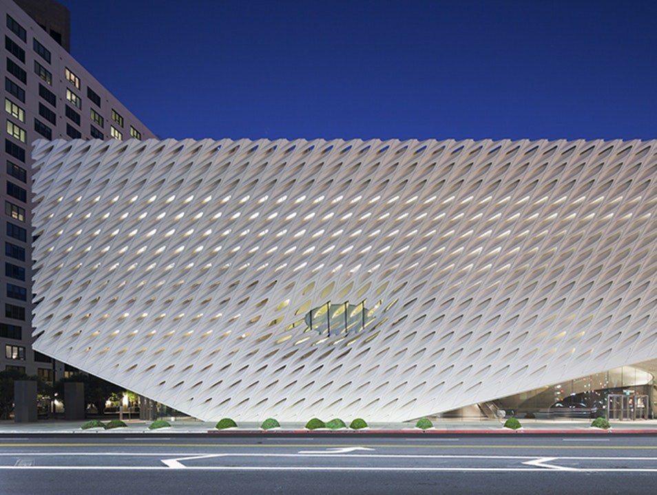 Bright and Bold New Art Museum Los Angeles California United States