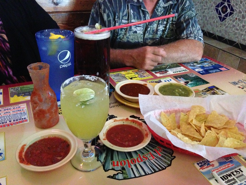 Make a meal of margaritas, salsas and chips