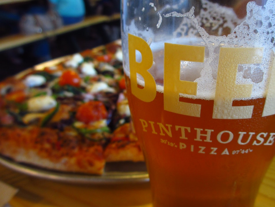 Beer and Pizza: the Perfect Marriage Austin Texas United States