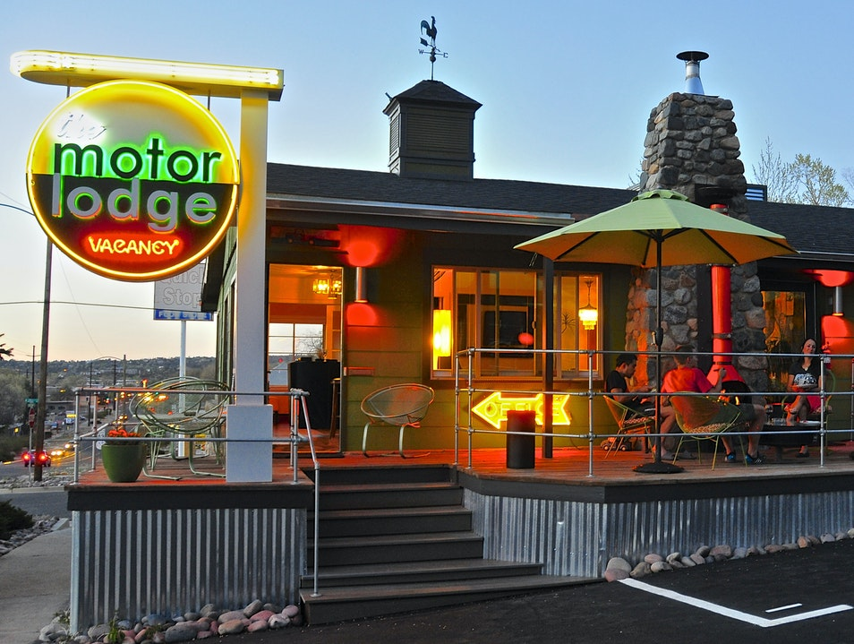 The Motor Lodge, Prescott
