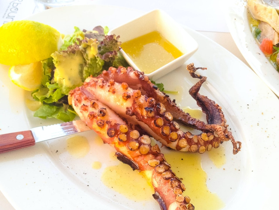 Bone Up on Greek Seafood at Barbouni Kos  Greece
