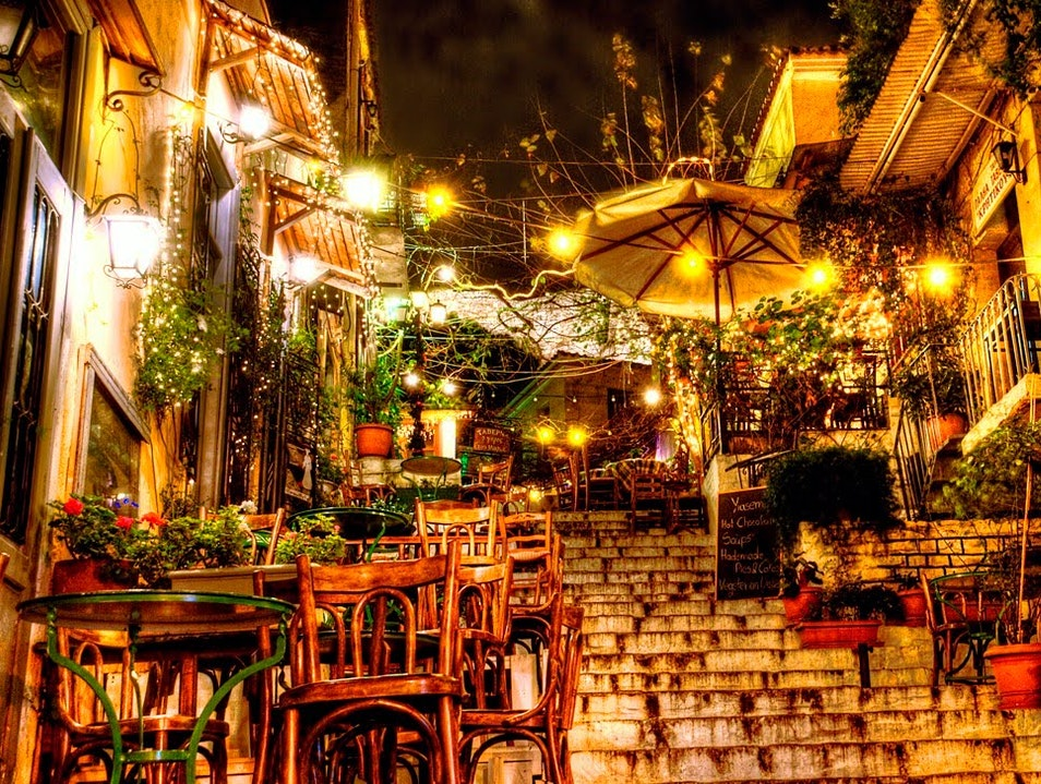 The Traditional Quarters of Athens
