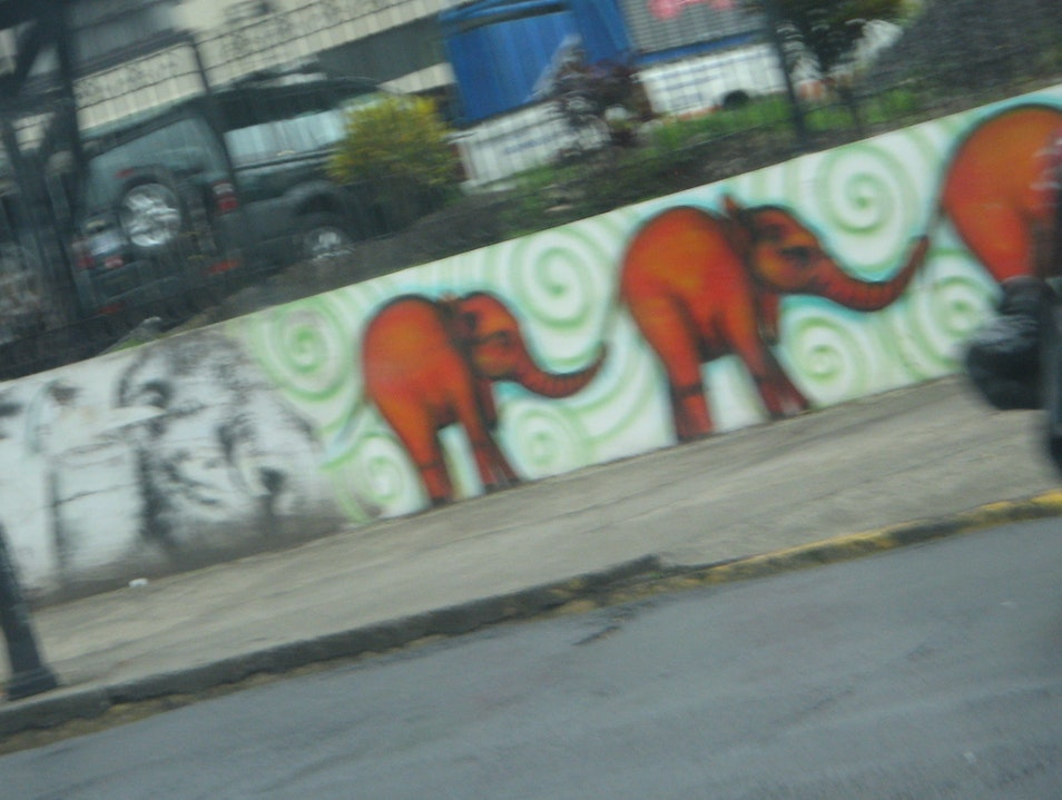 Street Art! San Jose  Costa Rica