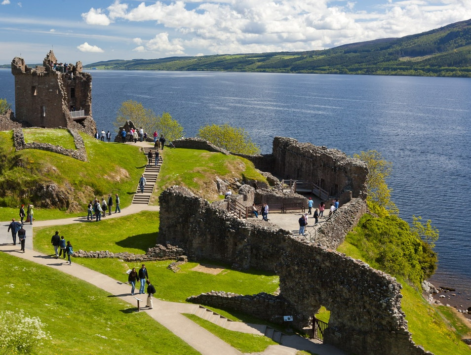 Urquhart Castle Drumnadrochit  United Kingdom