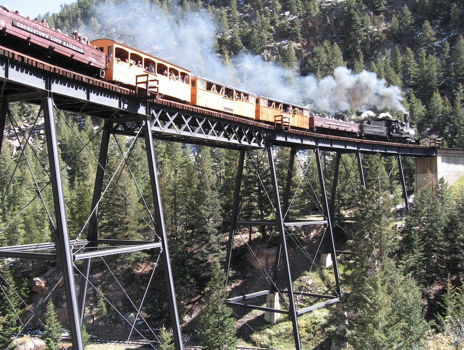Georgetown Loop Railroad a Fun Diversion on Your Way into Mountains Georgetown Colorado United States