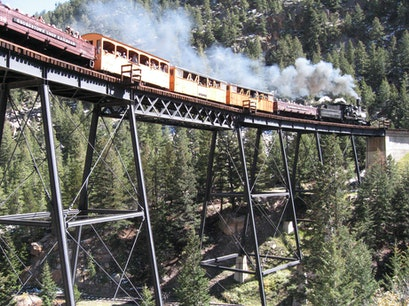 Georgetown Loop Railroad Georgetown Colorado United States