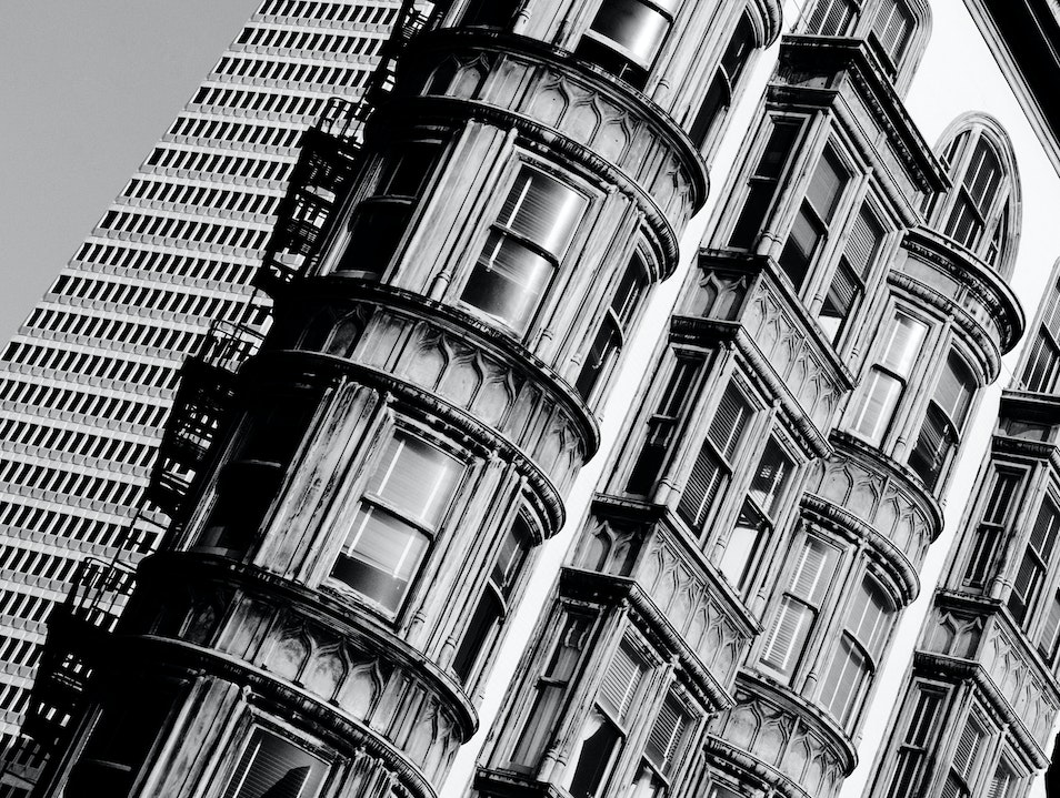 Iconic North Beach Architecture San Francisco California United States