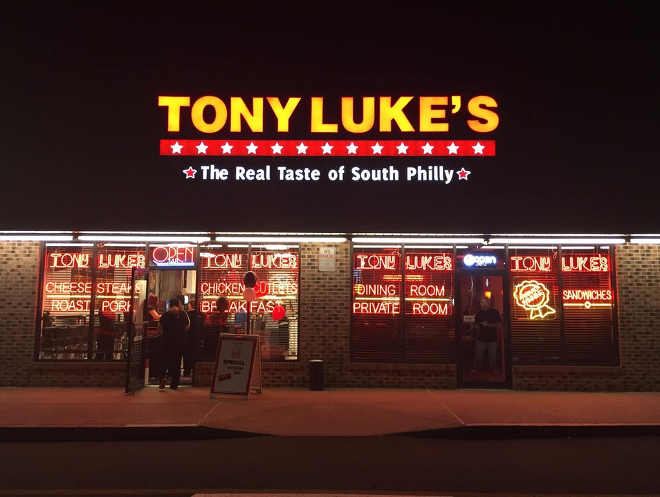 For the Cheesesteak Addict: Try Tony Luke's Philadelphia Pennsylvania United States