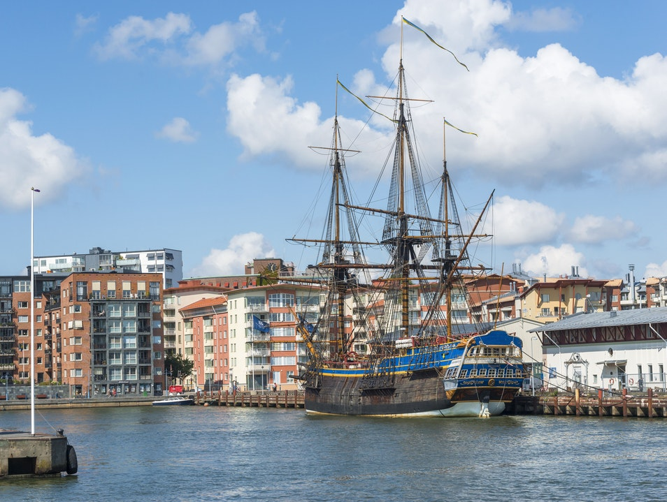 Sail into the 17th Century Gothenburg  Sweden