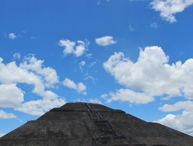 Teotihuacan, birthplace of the Gods.