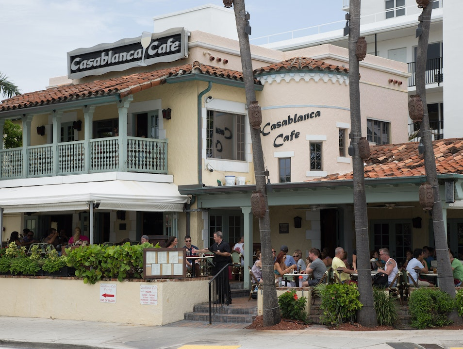 Eat at Casablanca Cafe Fort Lauderdale Florida United States
