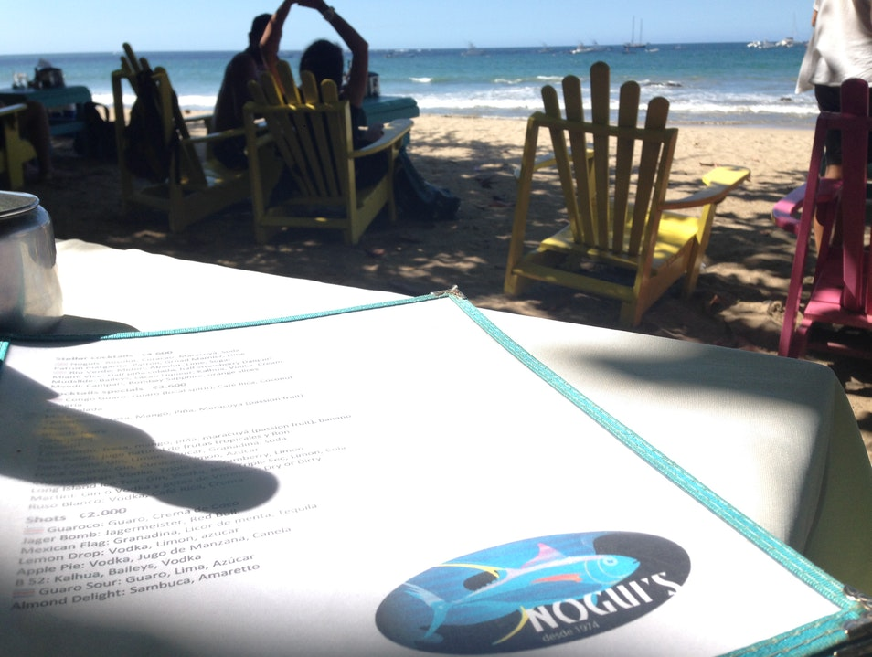 Ceviche, Fish Tacos, and More Right on the Beach Tamarindo  Costa Rica