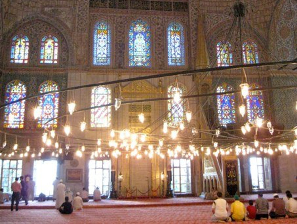 Incredible Turkish architecture & an evening call to prayer Istanbul  Turkey