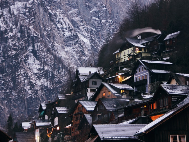 Wintertime in Hallstatt