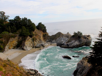 Julia Pfeiffer Burns State Park Big Sur California United States