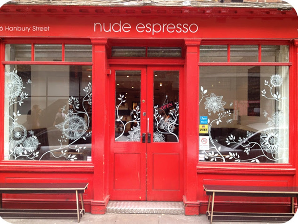 Baring It All at Nude Espresso London  United Kingdom