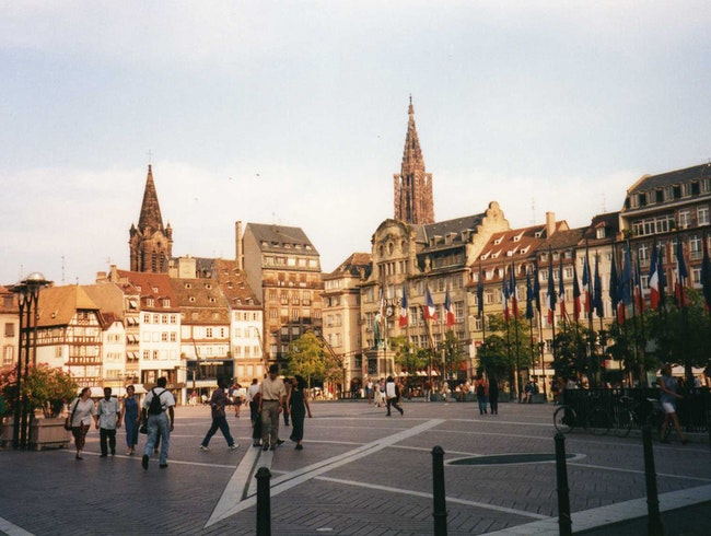 Studying French in Strasbourg