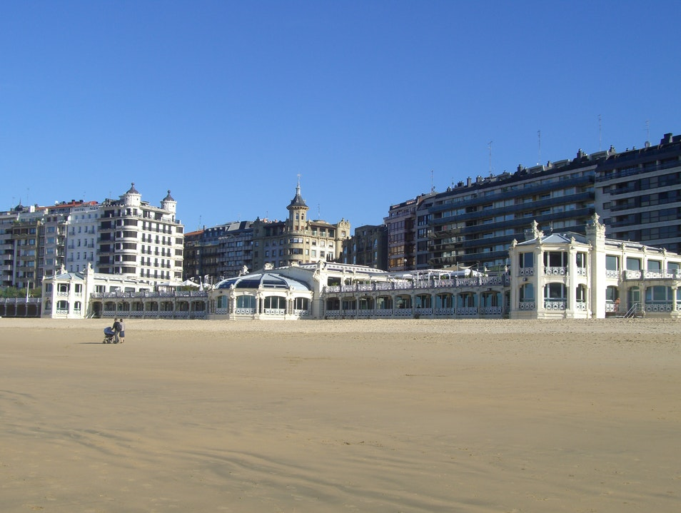 Where have all the tourists gone? Donostia  Spain