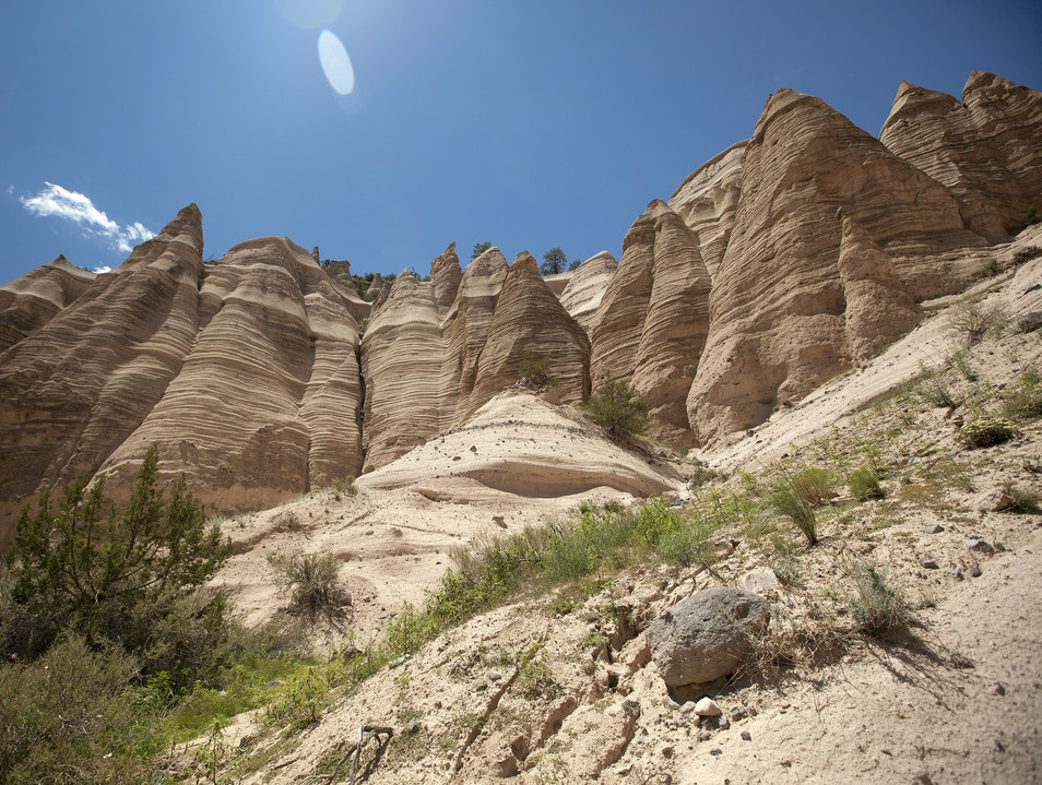 Hike Among the Hoodoos Jemez Springs New Mexico United States