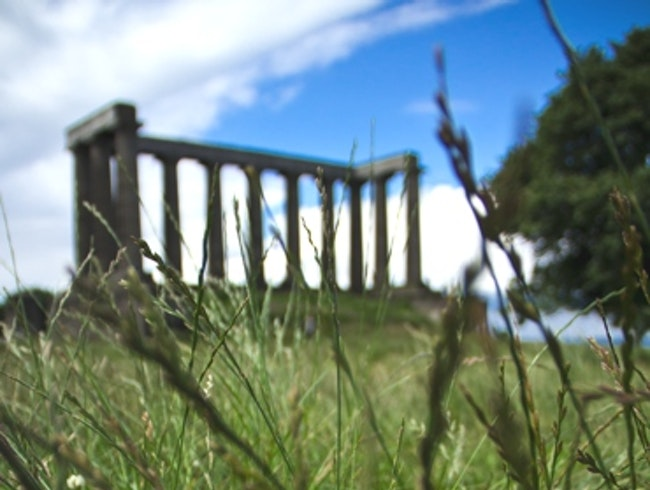 Rolling Down Calton Hill