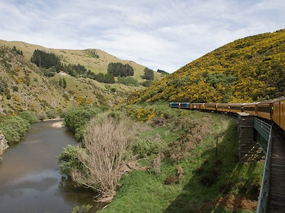 Taieri Gorge Railway Dunedin  New Zealand