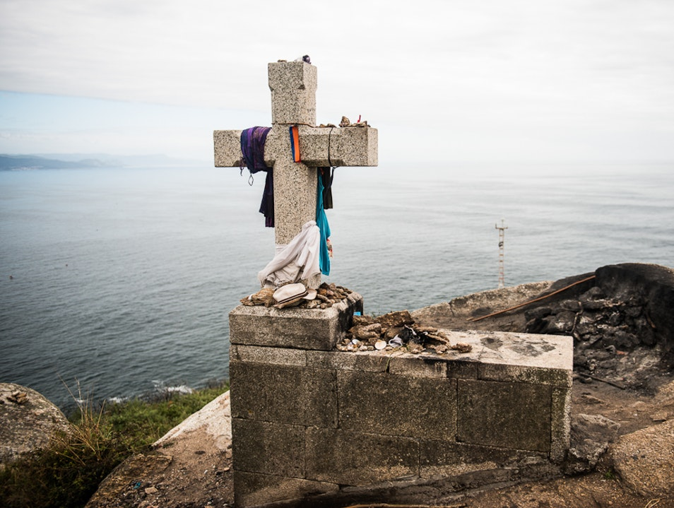 All the Way to the End, Cape Finisterre, A Coruña, Galicia, Spain. Cape Finisterre  Spain