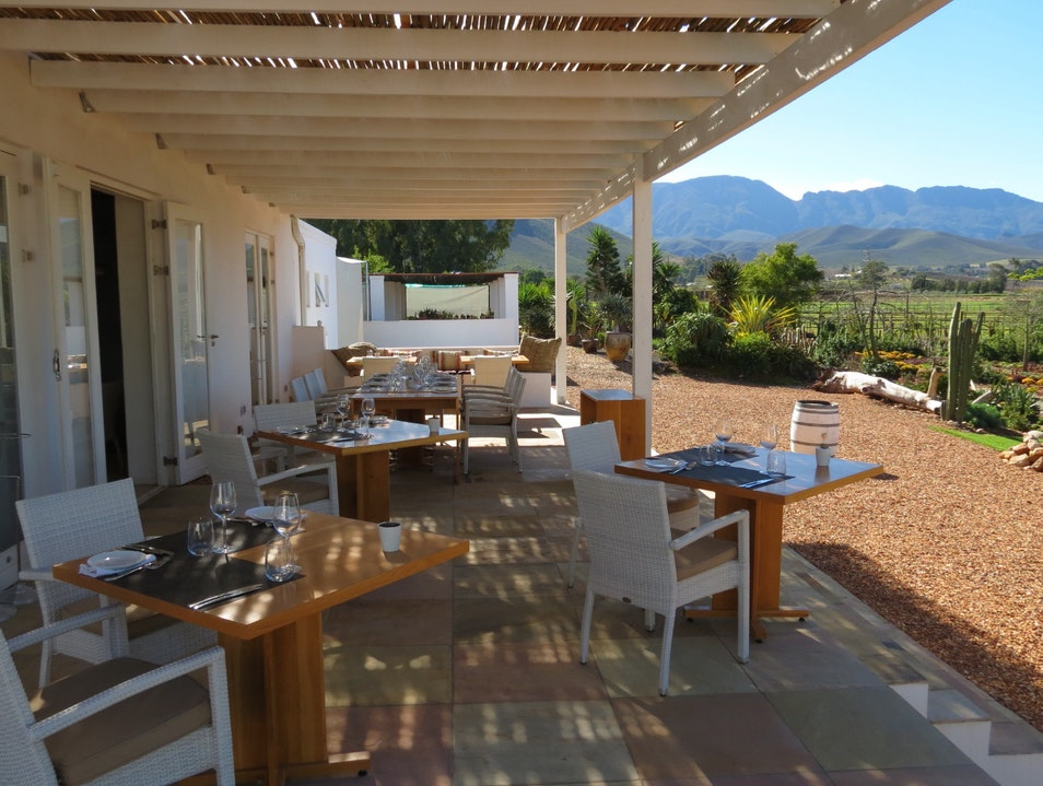 Cape Winelands Secret Garden & Wine Bistro Robertson  South Africa