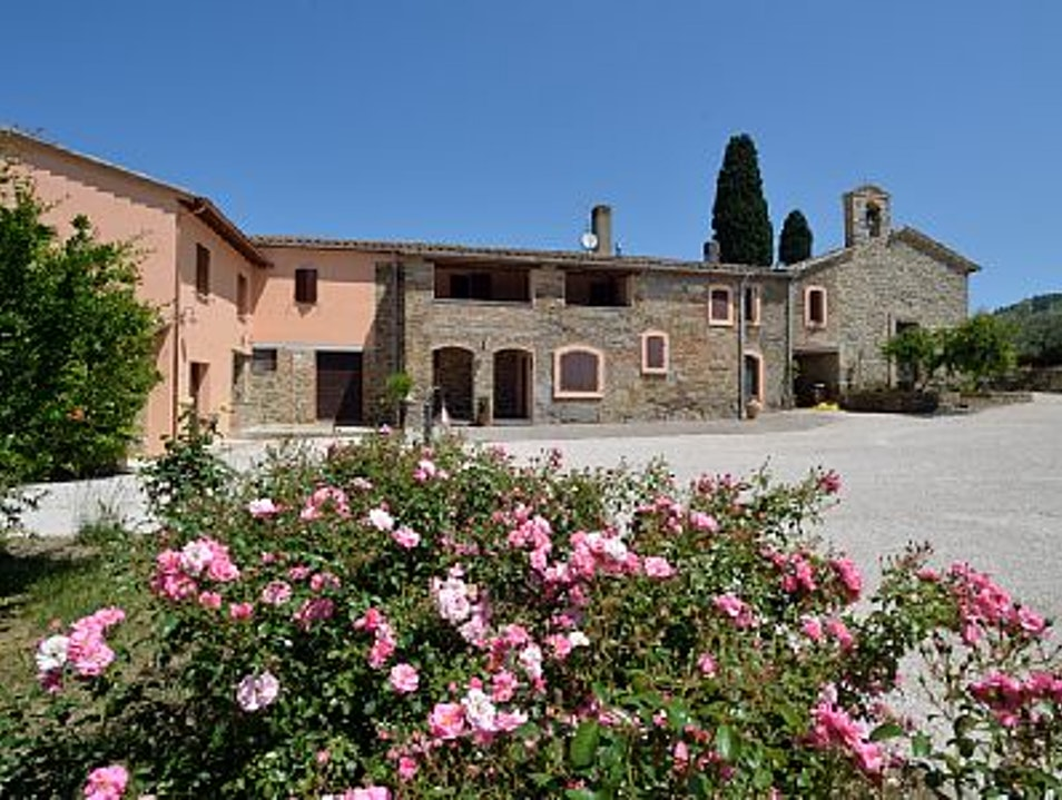 Staying in a Tuscan farmhouse