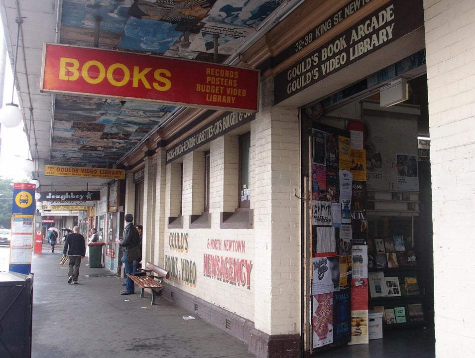 Books and Music Packed High to the Roofbeams Newtown  Australia