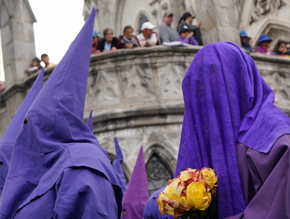Quito's Good Friday Procession of Purple