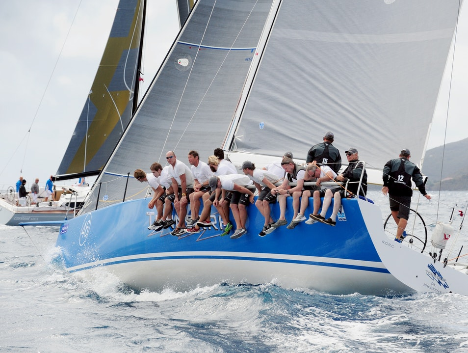 Sail Away with the BVI Spring Regatta  Virgin Gorda  British Virgin Islands