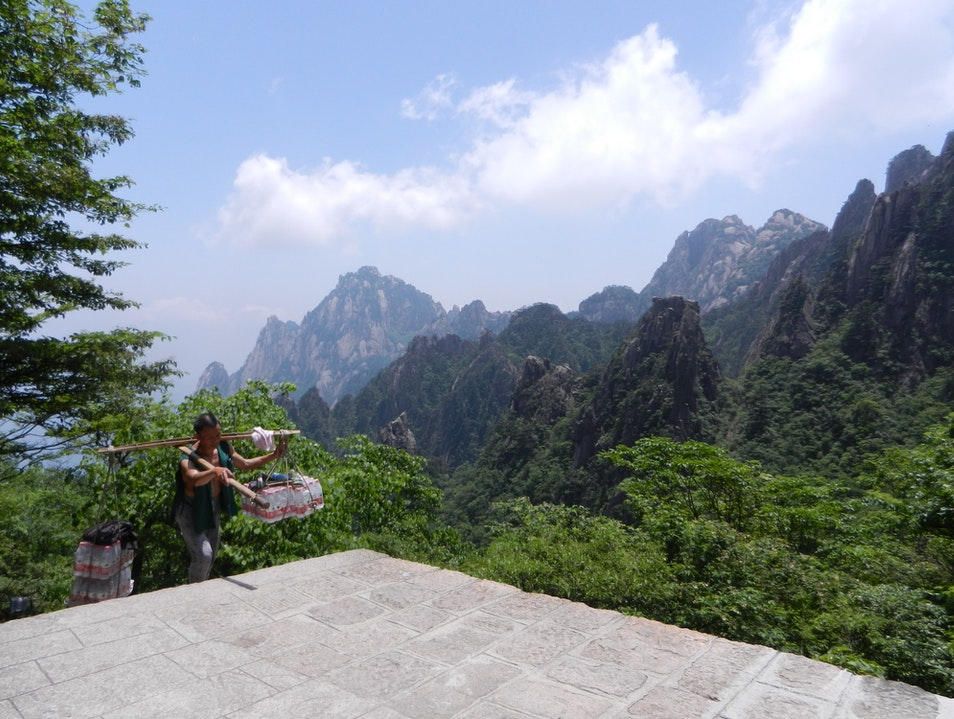 Take a Load Off and Hike Huangshan  China