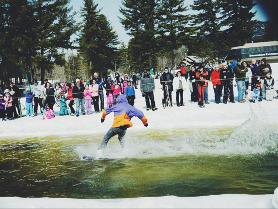Pond Skim at Cranmore Conway New Hampshire United States