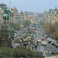 Wenceslas Square Prague  Czechia
