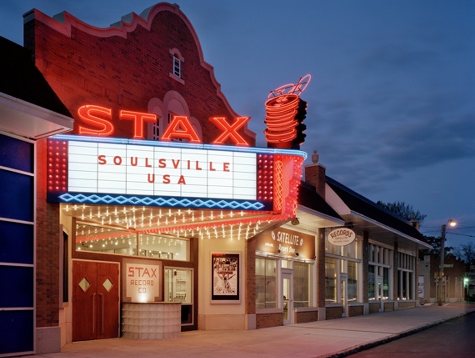 Stax Museum of American Soul Music Memphis Tennessee United States