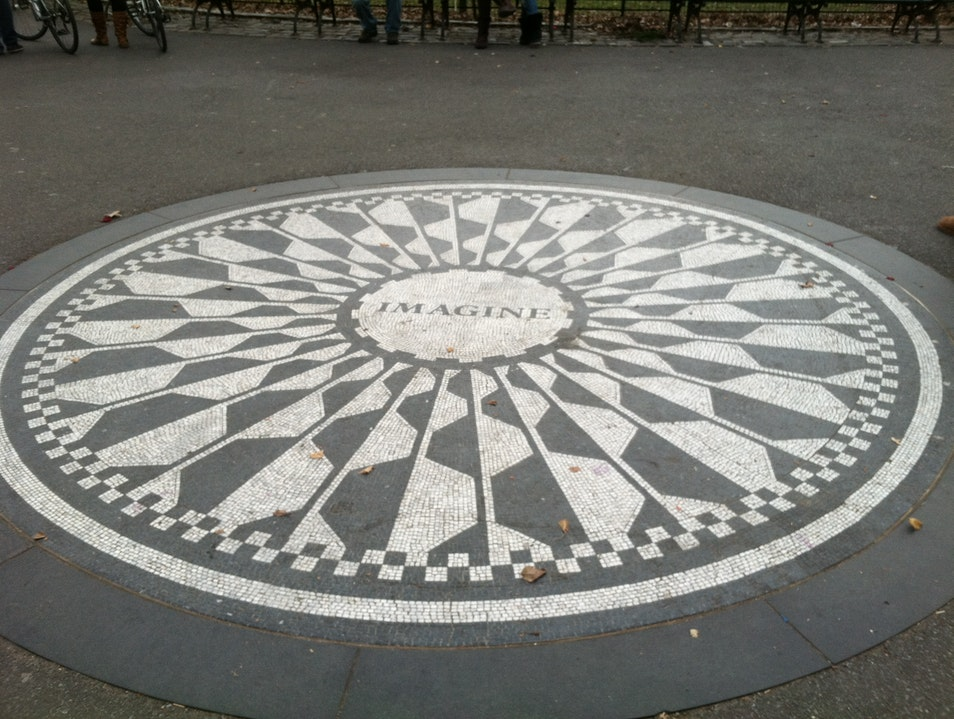 Strawberry Fields in Spring New York New York United States