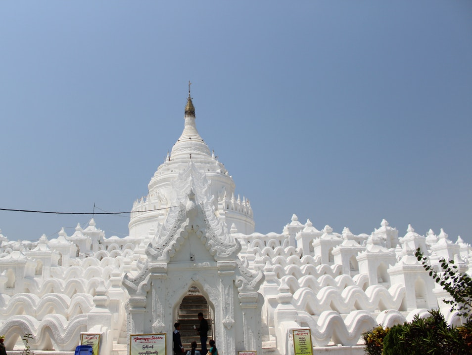 A fantastic day-trip from Mandalay Min Kun  Myanmar