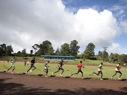High Altitude Training Centre Elgeyo Marakwet  Kenya