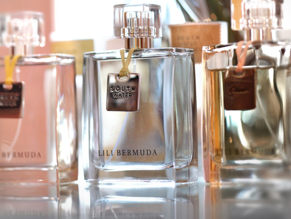 Selecting a Signature Scent at the Bermuda Perfumery St.George's  Bermuda