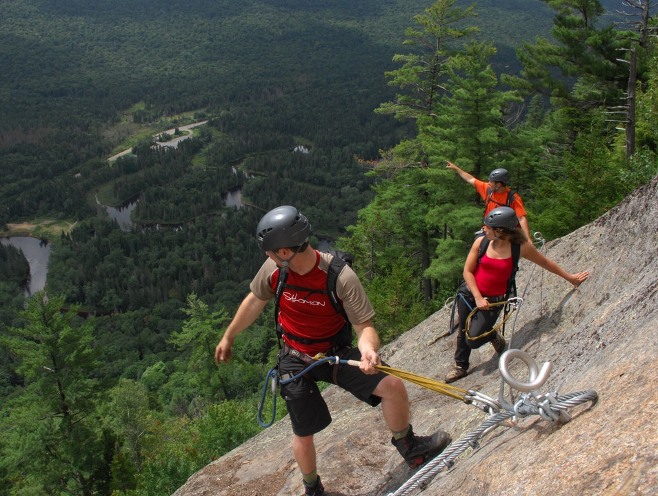Via Ferrata Saint Zénon  Canada