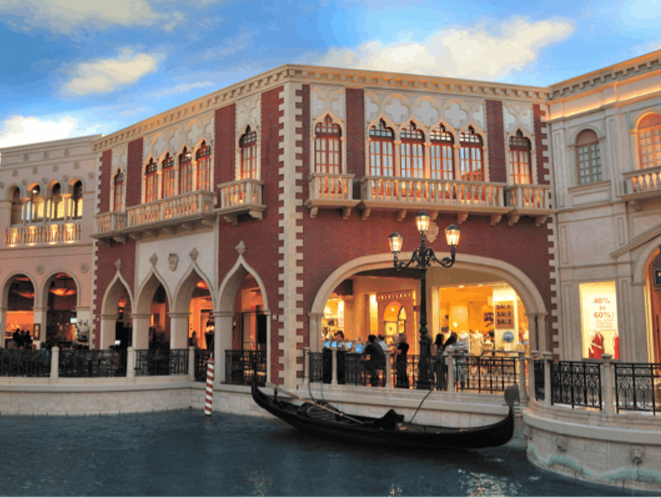 Grand Canal Shoppes at The Venetian Las Vegas Nevada United States