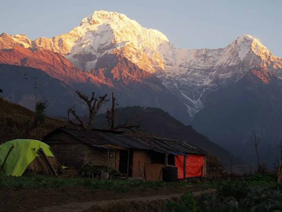 Short and Easy Trekking in Nepal  Ghode Pani  Nepal