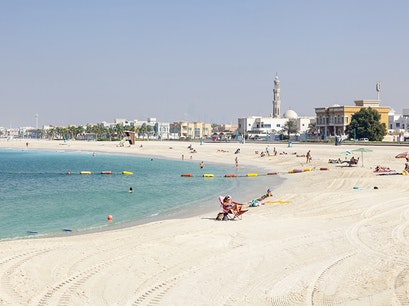 Public Beach Dubai  United Arab Emirates