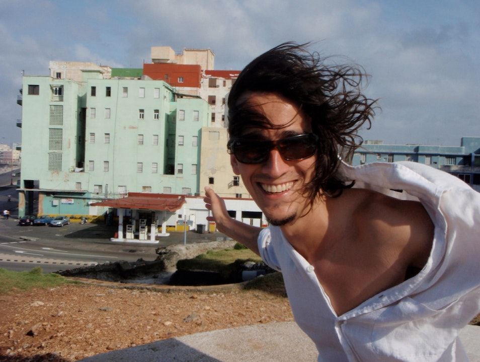A Windy Day Above The Malecon