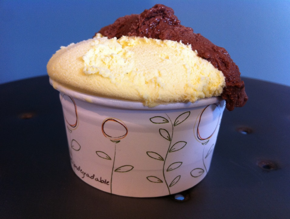 Stellar gelato near the MAXXI