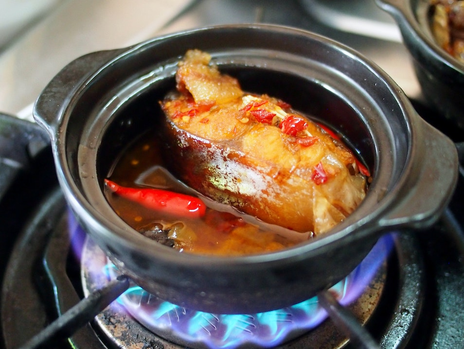 Best caramelized claypot catfish in all of Ho Chi Minh City