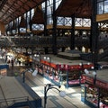 Great Market Hall Budapest  Hungary