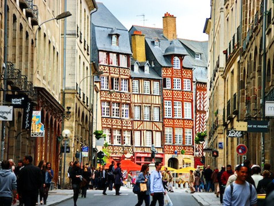 Rue St-Michel, Rennes, France